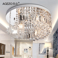 Wholesale Modern Crystal Chandelier Pendant Lamp Stair Hanging Lightbrief crystal lamp ceiling light living room lights bedroom lamp