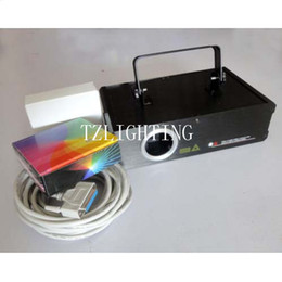 DMX512 Full Color RGB Laser Stage Light 1000mW ILDA Amimation Stage Laser Lighting ISHOW2.3