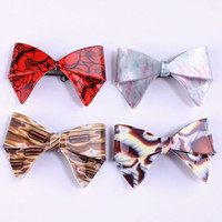 Wholesale Acetate Sheet Antique Color Hair Clip Acrylic Hair Clip Jewelry FM1142