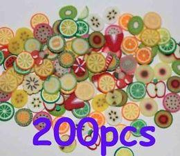 Wholesale 200X D Furit Nail Art Fimo Slices Scrapbooking Slices