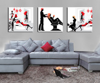 Wholesale HD Canvas Print Abstract home decor wall art painting Picture Salon safety PC cy