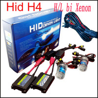 achat en gros de 55w voiture xénon caché h4-55W H4 bi xénon h4-3 H / L H16 12v kit voiture haute et basse bi xénon HID Beam Slim Ballast Kit