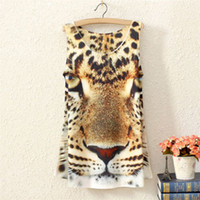 Sleeveless womens tops - Details about Summer Womens Ladies Sleeveless Tank Leopard Printed Top T Blouse
