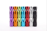 ego Rechargeable  Ego X6 battery factorysel Electronic cigarette vv mod Lava Tube battery Voltage Adjustable X6 Battery 3.6V 3.8V 4.2V 1300MAH E cig cigarette