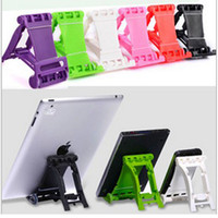 Stand Holder   Universal Portable Fold up Desk Mount Bracket Stand Holder For Apple iPad 2 3 4 5 air mini iphone 4 4S 5S Tablet PC galaxy s3 s4 s5 LG HTC