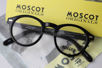 Wholesale Moscot Miltzen Originals Vintage Sunglasses Designer Fashion Glasses Black amp Tortoise Eyeglass Frame With Pain Mirror