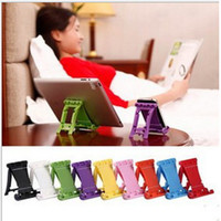 Cheap Wholesale Universal Stand Holder Fold up Desk Mount Bracket For Apple iPad 2 3 4 5 air mini iphone 4 4S 5S Tablet PC galaxy s3 s4 s5 note 3
