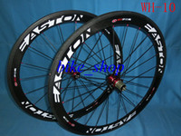 Wholesale Carbon Fibre Clincher Bicycle Wheel C MM K Tubular Shimano POWERWAY POWERWAY R13 J hook HUBS Cycling Wheelsets