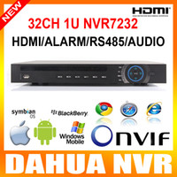 Wholesale 2014 Latest Products Dahua Channel U Network Video Recorder ch P NVR CH alarm Input Realtime View NVR5232 Upgrade NVR7232