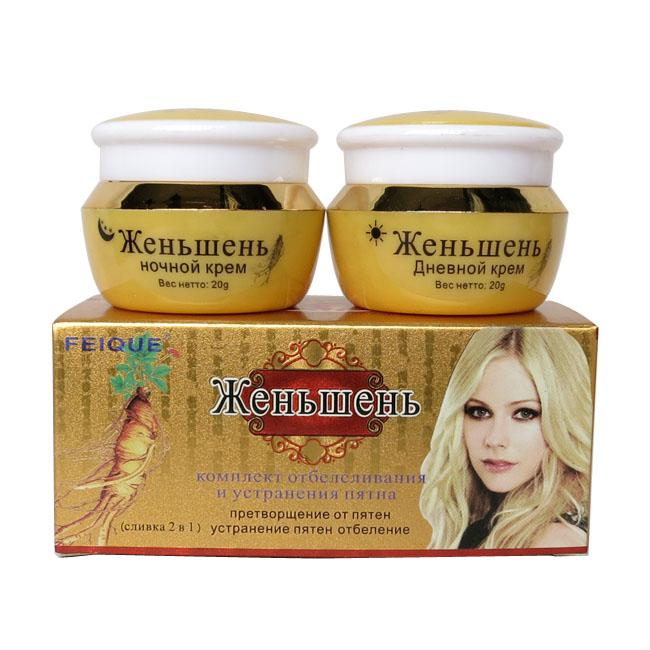 vente en gros ginseng blanchissant cr me anti taches de rousseur pour le visage soins de la peau. Black Bedroom Furniture Sets. Home Design Ideas