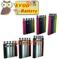 1100mAh China  EVOD Battery Electronic Cigarette Battery e Cig Battery e Cigarette Battery for CE4 CE5 X10 Protank AeroTank GS-H5 H2 Glass Vaporizer TOWOTO