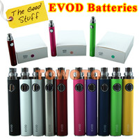 1100mAh China  ON SALE EVOD Electronic Cigarette Evod Battery e-Cigarette e-Cigs e-Cig Battery for CE4 CE5 T3S Atty Tank You Chi Mod Tank VV Twist TOWOTO