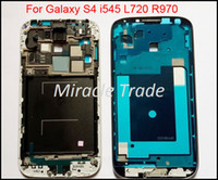 Wholesale For Samsung i545 L720 R970 Front Bezel Faceplate Housing Frame for Galaxy S4