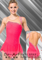 Wholesale boart custom girls hot sales Figure Skating Dress Beautiful New Brand Ice skating Dress dance skirt Competition adult customize A4023
