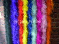 Wholesale meter Chicken Feather Strip Wedding Marabou Feather Boa
