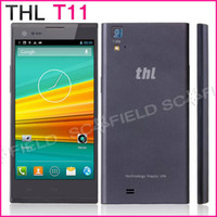 Wholesale THL T11 Inch IPS MTK6592 Octa core Android Cell Phone Corning Gorilla Glass3 G RAM G ROM MP Camera Android GPS NFC OTG