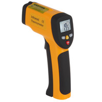 Wholesale LCD Digital Display Infrared Digital Thermometer Gun Shape Thermometer Non contact IR Laser Sensor Infrared Handheld Thermometer INS_106
