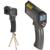 Wholesale Non contact LCD Backlight Display Infrared Thermometer With IR Laser Pointer Degree Triangle Bracket to C