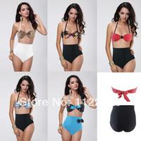 Cheap Bikinis Set beach swimwear Best Polyester Floral print swimsuit