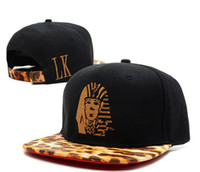 Wholesale strap back hats leather last kings strapback snapback snapbacks LK Caps