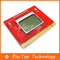 Wholesale LCD PCI PC Computer Analyzer Tester Diagnostic Debug POST Card
