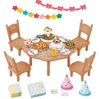 Wholesale quot Counter genuine quot Sylvanian Families Home Party Set Party Set