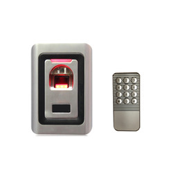 Wholesale New Arrival Metal Case Anti Vandal Biometric Fingerprint Access Control