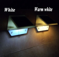 Wholesale Solar Powered luz de LED wall lamps Outdoor lighting buiten verlichting iluminacion exterior christmas garden decoration lamp for home