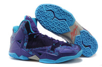 Wholesale Hot Basketball shoes First Brand Lebron XI PS Elite Summit Lake Hornets theme Mens Athletic Shoes LeBrons Sneaker SIZE