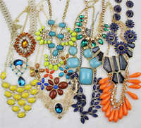 Wholesale Gorgeous Jewelry Sets Mixed jewelry Statement Necklaces Pendant Necklaces Bracelets Bangle Earrings Rings Bohemian Women Accessory By Weight