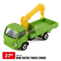 Wholesale How beautiful TOMICA HINO DUTRO TRUCK Hino Truck Crane alloy car