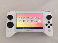 Wholesale WIFI touch screen handheld game consoles tablet Android G5A Quad core mAh