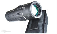 Universal   Wholesale - Super Clear 16x52 Dual Focus Telescope Optics Zoom Monocular Scalable Telescopic