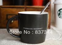 Wholesale Reserve mug Starbucks th anniversary of the signature black mug ceramic cup coffee mug new direct clearance sale