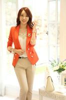 Women Dress Suit Corduroy New 2014 Arrival Korea Style yellow Blazers