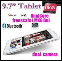 "4.8 inch Android 4.0 2GB discount shipping Sanei N90 dual core dual camera 9.7"" Android Tablet 16Gb 1.0GB DDR3 Bluetooth tablet pc"