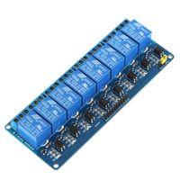 al por mayor retransmitir activa baja-Nueva 5V Activo bajo 8 canales de relé tablero del módulo de Arduino PIC AVR DSP MCU ARM Freeshipping H9449