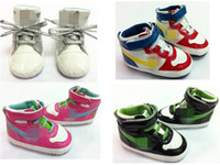 Wholesale baby sneakers first walkers brand baby boy shoes fashion baby shoes first walkers top quality brand shoes very hot sale GA816