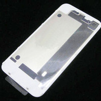 Wholesale Hot Top Quality Back Glass Battery Housing Door Back Cover Replacement Part with Flash Diffuser for iphone G S