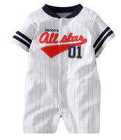 Wholesale 2014 new baby clothes Baby Rompers First Moments Baby Body suitsBoy s one piece romper ZW887H