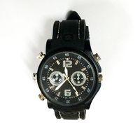4G watch dvr recorder - 4GB Leather Belt Spy Watch Camera mini hidden camera DVR video Recorder