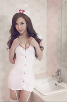 Wholesale sexy Uniform Cosplay Sexy Nurse Uniform Women s Clothing Lingerie HS03