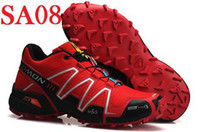 Wholesale Hot New Men s Salomon Speedcross Athletic Running Sports Man Shoes Outdoor Solomon Trail Racing Shoes SA08