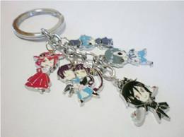 model metal toys cars prices - Anime Cosplay Kuroshitsuji Ciel Phantomhive Metal Model Toys Figure Keychain Keyring For Christmas Gifts