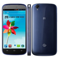 GSM900 English Android ZTE N986 Smartphone Android 4.2 MTK6589 Quad Core 5 Inch IPS HD Screen 1GB 4GB GPS