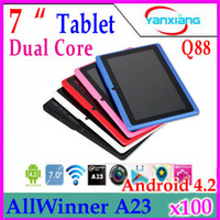 7 inch andriod mid - DHL inch A23 Q88 tablet pc Andriod MB GB Capacitive GHZ YX MID