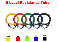 Wholesale Fitness Bands Resistance Stretch Pull Rope for Muscle Building Yoga Muscle Exercise Tool Free