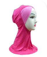 Wholesale Splice Scarf Muslim Hijab Voile Cotton Mix Color New Arrival S17
