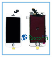 For Apple iPhone LCD Screen Panels  For Iphone 5 Original LCD Digitizer Touch Screen Assembly Wholesale Price Complete Replacement