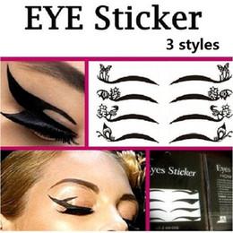Wholesale Sample Smoky Eyes Sticker Vintage Eye liner Sticker Shadow Sticker temporary tattoos
